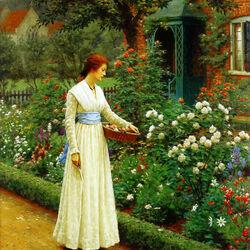 Пазл онлайн: Удел розы