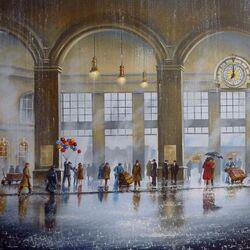 Пазл онлайн: Вокзал мечты
