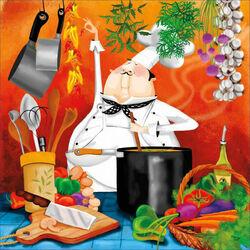 Пазл онлайн: Шеф на кухне