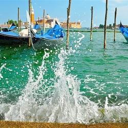 Пазл онлайн: Брызги Венеции