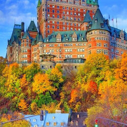Пазл онлайн: Квебек