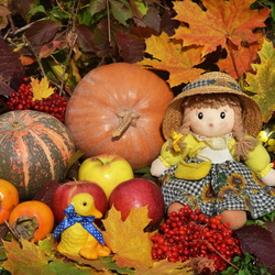 Пазл онлайн: Осенняя фантазия