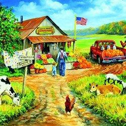 Пазл онлайн: Местный рынок