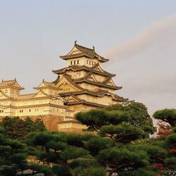 Пазл онлайн: Замок Белой цапли