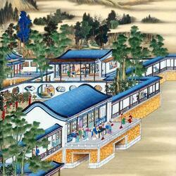 Пазл онлайн: Восточная живопись