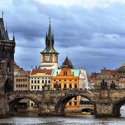 Пазл онлайн: Карлов мост, Прага