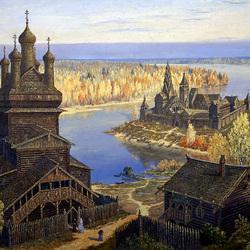 Пазл онлайн: Ведическая Русь.Осень