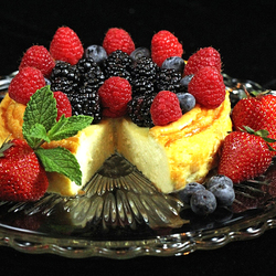 Пазл онлайн: Ягодный десерт