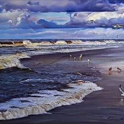 Пазл онлайн: Навстречу волнам