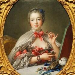 Пазл онлайн: Мадам де Помпадур