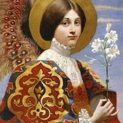 Пазл онлайн: Ангел Благовещения