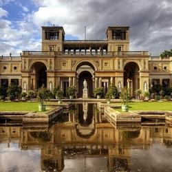 Пазл онлайн: Оранжерейный дворец в Потсдаме. Германия