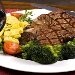 Пазл онлайн: Мясо с овощами