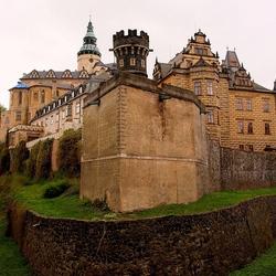 Пазл онлайн: Замок Фридлант. Чехия