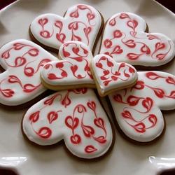 Пазл онлайн: Печенье с любовью