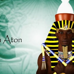 Пазл онлайн: Атон