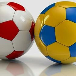 Пазл онлайн: Мячи