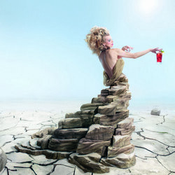Пазл онлайн: Каменное платье