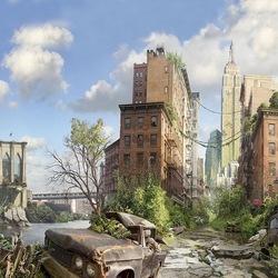 Пазл онлайн: Покинутый город