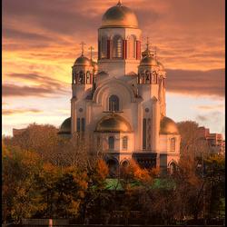 Пазл онлайн: Храм Спаса-на-Крови, Екатеринбург