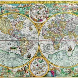 Пазл онлайн: Карта