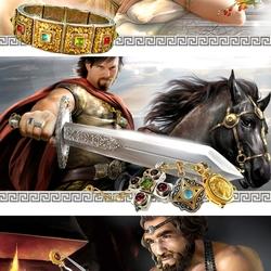 Пазл онлайн: Афродита, Арес, Гефест