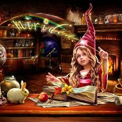 Пазл онлайн: Юная волшебница