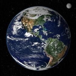 Пазл онлайн: Планета Земля