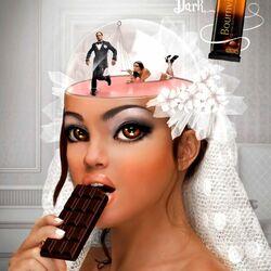Пазл онлайн: Мысли невесты
