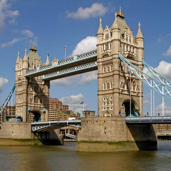 Пазл онлайн: Лондон.Тауэрский мост