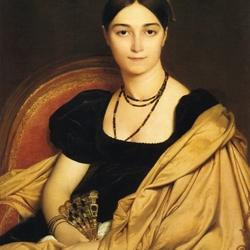 Пазл онлайн: Портрет мадам Антонии де Вокей, урожденой де Нитти