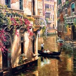 Пазл онлайн: По улочкам Венеции