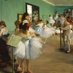 Пазл онлайн: Танцевальный класс