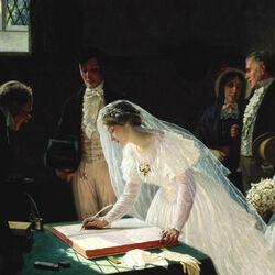 Пазл онлайн: Регистрация брака