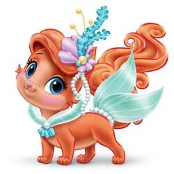 Пазл онлайн: Питомцы принцесс