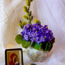 Пазл онлайн: Вербное воскресенье