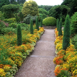 Пазл онлайн: Biddulph Grange Garden, Графство Стаффорд