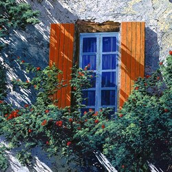 Пазл онлайн: Окна и тени