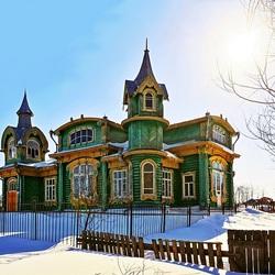 Пазл онлайн: Дом Шорина в Гороховце