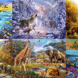 Пазл онлайн: Мир дикой природы