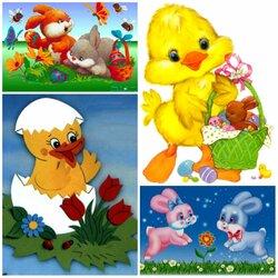 Пазл онлайн: Весёлой Пасхи !