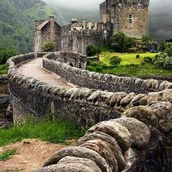 Пазл онлайн: Замок Айлин Донан