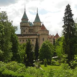 Пазл онлайн: Бойницкий замок