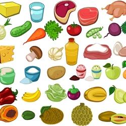 Пазл онлайн: Продукты питания