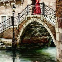 Пазл онлайн: Мосты Венеции