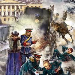Пазл онлайн: Убийство Александра II