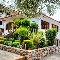 Пазл онлайн: Отель в Греции