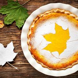 Пазл онлайн: Кленовый пирог