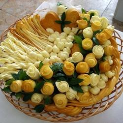 Пазл онлайн: Корзиночка с сыром