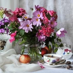 Пазл онлайн: Летний чай
